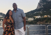Magic Johnson in vacanza a Capri col suo mega yacht