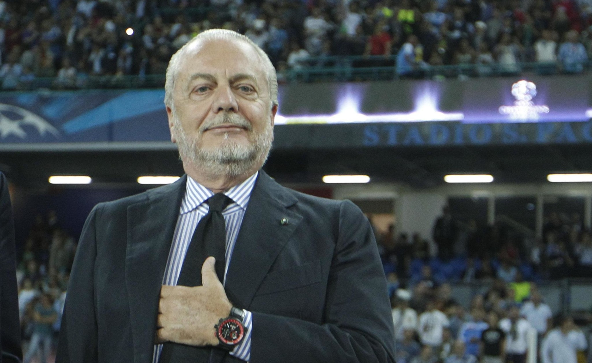 CLAMOROSA decisione di De Laurentiis dopo i fatti di Madrid!